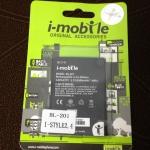 แบตเตอรี่ ไอโมบาย BL-201 (I-mobile) I-Style 2.4 ความจุ 2000 mAh