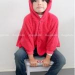 Augelute เสื้อคลุม สีแดง แพค 10ตัว ไซส์ 60-70-80-90-100