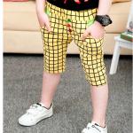 กางเกง สีเหลือง แพค 5 ตัว ไซส์ 100-110-120-130-140