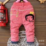 กางเกง สีชมพู แพ็ค 5ตัว ไซส์ 6-8-10-12-14