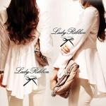 Lady Elisa Minimal Chic Long-Sleeved Top เสื้อแขนยาวสีขาวชายยาว ขนาด S