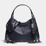 Preorder COACH Nomad Fringe Hobo in Pebble Leather Style No: 37717