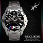 นาฬิกาแฟชั่น 3 D BMW M3 MENS SPORT METAL
