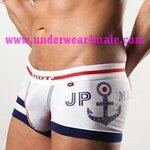 TOOT Men Underwear JP Marine Trunk (White)