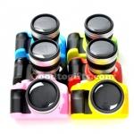 กระปุกออมสินรูปกล้อง DSLR สีชมพู