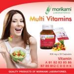 มัลติ วิตามิน Multi Vitamins โมริคามิ ลาบอราทอรีส์ Morikami Laboratories