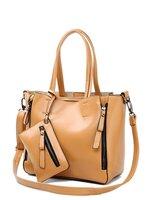 กระเป๋าแฟชั่น HOW.R.U - 012 สี Brown