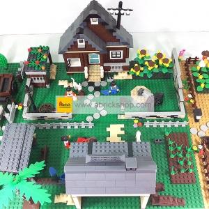 ฟาร์ม (Farm) W-set 1. ตัวต่อเลโก้จีน รวมฟาร์มใหญ่ (ชุด 4 กล่อง)