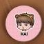 เข็มกลัด EXO KAI พร้อมส่ง thumbnail 1