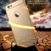 เคส iPhone 6s / iPhone 6 (4.7 นิ้ว) ขอบเคสโลหะ Bumper + พร้อมแผ่นฝาหลังเงางามสวยจับตา