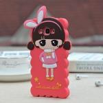 เคส Samsung Galaxy E7 ซิลิโคนเด็กผู้หญิงน่ารักสดใสมากๆ ราคาส่ง ราคาถูก
