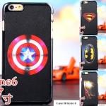 case iphone 6 ขนาดจอ 4.7 นิ้ว พลาสติกลายซุปเปอร์ฮีโร่แบทแมน สไปเดอร์แมน ราคาถูก -B-