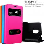 เคส Samsung Galaxy Note 4 แบบฝาพับโชว์หน้าจอสีสันสดใส สวยหรูมากๆ ราคาถูก