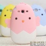 case s3 เคส Samsung Galaxy s3 ลูกเจี๊ยบออกมาจากไข่ น่ารักๆ ซิลิโคน 3D ราคาส่ง ขายถูกสุดๆ