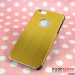 case iphone 5 เคสไอโฟน5 เคสโลหะ ตัดขอบดำ มีช่องโชว์โลโก้ บาง เรียบ หรู ดูดี สวยสุดๆ ultrathin titanium