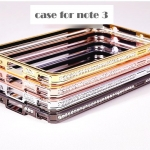 เคส note 3 Case Samsung Galaxy note 3 Bumper ขอบเคสฝังเพชรสุดหรู luxury Tyrant gold metal frame ราคาส่ง ขายถูกสุดๆ
