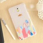 case note 3 เคส Samsung Galaxy note 3 เคสพลาสติกผิวกันลื่น โปร่งแสง ลายการ์ตูนน่ารักๆ ลายดอกไม่สวยๆ ลายกราฟฟิกอาร์ตๆ ราคาส่ง ขายถูกสุดๆ