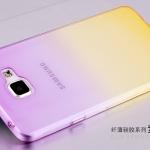 เคส Samsung A7 2016 ซิลิโคน soft case แบบนิ่มไล่เฉดสี สวยงามมาก ราคาถูก