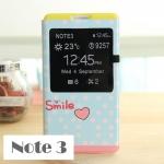เคส note 3 Case Samsung Galaxy note 3 เคสหนังฝาพับแบบบาง โชว์หน้าจอ ลายการ์ตูนน่ารักๆ ราคาส่ง ขายถูกสุดๆ