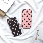Case iPhone 7 (4.7 นิ้ว) พลาสติกสกรีนลายกระต่ายน้อยแสนน่ารัก น่าใช้ ราคาถูก
