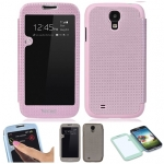 Case S4 เคส Samsung Galaxy S4 i9500 YUGOLF เคสฝาพับข้างลายสวยๆ โชว์หน้าจอแบบเต็มหน้าจอ เคสมือถือ ราคาถูก ขายส่ง