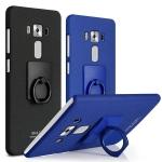 Case Asus Zenfone 3 (5.5 นิ้ว ZE552KL) พลาสติกสีพื้น imak พื้นผิวกันลื่นพร้อมแหวนมือถือ ราคาถูก