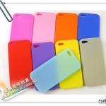 case iphone 5 เคสไอโฟน5 เคสซิลิโคนนิ่มๆ หลากสี Multicolor silicone