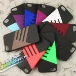 case iphone 5 เคสไอโฟน5 เคสพลาสติกคาดโลหะแนวสปอร์ตเท่ๆ