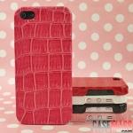 case iphone 5 เคสไอโฟน5 เคสหนังจรเข้ มีหลายสีทั้งสีหวานและสีเข้ม สวยๆ หรูหรา ไฮโซ leather Crocodile pattern iPhone5