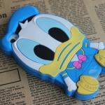 เคส iphone 4 เคสไอโฟน4s เป็ดโดนัลดั๊ก ซิลิโคน 3D น่ารักๆ Disney's Donald Duck Silicone Case