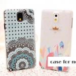 เคสซัมซุงโน๊ต3 Case Samsung Galaxy note 3 ลายดอกไม้สวยๆ ลายอาร์ตๆ สีหวานๆ ผิวกันลื่น ราคาส่ง ขายถูกสุดๆ