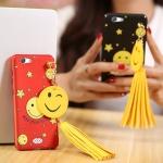 เคส Oppo Joy 5 / Neo 5s พลาสติกสกรีนลายยิ้ม SMILE พร้อมที่ห้อยเข้าชุด ราคาถูก