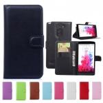เคส LG G3 Stylus แบบฝาพับหนังเทียมสีคลาสสิค สีสดใส สามารถตั้งได้ ราคาถูก