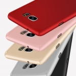 Case Samsung S7 Edge พลาสติกเคลือบเมทัลลิคแบบประกบหน้า - หลังสวยงามมากๆ ราคาถูก