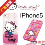 case iphone 5 เคสไอโฟน5 เคสซิลิโคน TPU ลายคิตตี้สีหวานน่ารักๆ Hello Kitty TPU soft shell iPhone5
