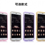Case Huawei G7 Plus ซิลิโคน TPU soft case แบบฝาพับโปร่งใสสีต่างๆ สวยงามมากๆ ราคาถูก