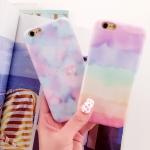 เคส iPhone 6s / iPhone 6 (4.7 นิ้ว) ซิลิโคน TPU ไล่เฉดสีสีรุ้งสวยหวานมากๆ ราคาถูก