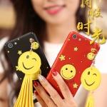 เคส OPPO Mirror 5 Lite / Mirror 5 Lite 4G พลาสติกสกรีนลายยิ้ม SMILE พร้อมที่ห้อยเข้าชุด ราคาถูก