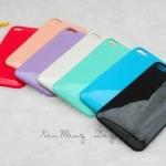 เคสไอโฟน 4/4s case iphone 4/4s ตัวเคสทำจากพลาสติกทรงนูนหน่อยๆ ขอบมนๆ เคลือบเงาแบบสีรถยนต์ (sports car back shell)
