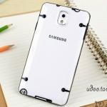 เคส note 3 Case Samsung Galaxy note 3 เคสพลาสติกใส บางๆ ขอบซิลิโคน สีสวยๆ ราคาส่ง ขายถูกสุดๆ