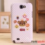 เคส Note 2 Case Samsung Galaxy Note 2 II N7100 เคส WINGCLE BEAR เจ้าหมีน้อยน่ารัก