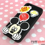 case iphone 5 เคสไอโฟน5 เคสซิลิโคนตัวการ์ตูนลายดิสนีย์ตัวต่อถอดได้ติดได้ตามต้องการ 86hero Disney cartoon puzzle iPhone5