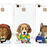 เคส Huawei GR3 ซิลิโคน soft case แบบนิ่ม สกรีนลายการ์ตูนสัตว์โลกน่ารักมากๆ ราคาถูก