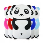 case iphone 5 เคสไอโฟน5 เคสซิลิโคนเป็นรูปหมีแพนด้า 3D สวยๆ น่ารักๆ Panda iphone5 Silicone Case 3D