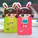 เคส Huawei 3C ซิลิโคนเด็กผู้หญิงน่ารักสดใสมากๆ ราคาส่ง ราคาถูก