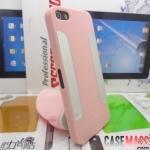 case iphone 5 เคสสีพื้นมีแผ่นโหละเงาๆด้านหลังซ้าย-ขวา สวยๆ เท่ๆ