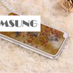 เคส Samsung Galaxy Note 4 พลาสติกมีกากเพชรฟรุ้งฟริ้ง+ผีเสื้อน้อยน่ารักมากๆ ราคาถูก