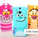 เคส HTC One M8 ซิลิโคนการ์ตูนทิกเกอร์ แมววันเดอร์แลนด์ แซลลี่แวน เคสมือถือ ขายปลีก ขายส่ง ราคาถูก -B-