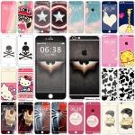 ฟิล์มกันรอย iphone 6 plus ลายการ์ตูนน่ารักๆ แปลกๆ เท่ๆ ประกบ 2 ชิ้น ด้านหน้าและด้านหลัง ราคาถูก