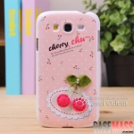 Case Grand Case Samsung Galaxy Grand Duos i9082-i9080 เคสประดับตกแต่งด้วยของน่ารักๆ สวยๆ คุณหนูมากๆ Protective cover for the new Samsung i9082 i9080 Covers Cases couple cherries handmade shell